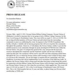 COVID-Center-Press-Release